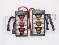 XT60 T Parallel Charging Adapter Board 2 6s Lipo Batteries Charger Plate For Imax B6 B6AC