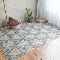 Ковер с нордическим узором гостиная Ins стиль геометрический диван чайный коврик для стола простой спальня комната прикроватный коврик детс