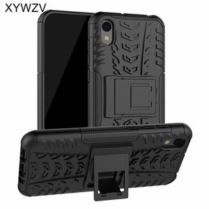 Image 1 - Huawei Honor 8s Case Shockproof Cover Armor Soft PU Silicone Rubber Hard PC Phone Case For Huawei Honor 8S Back Cover Honor 8S