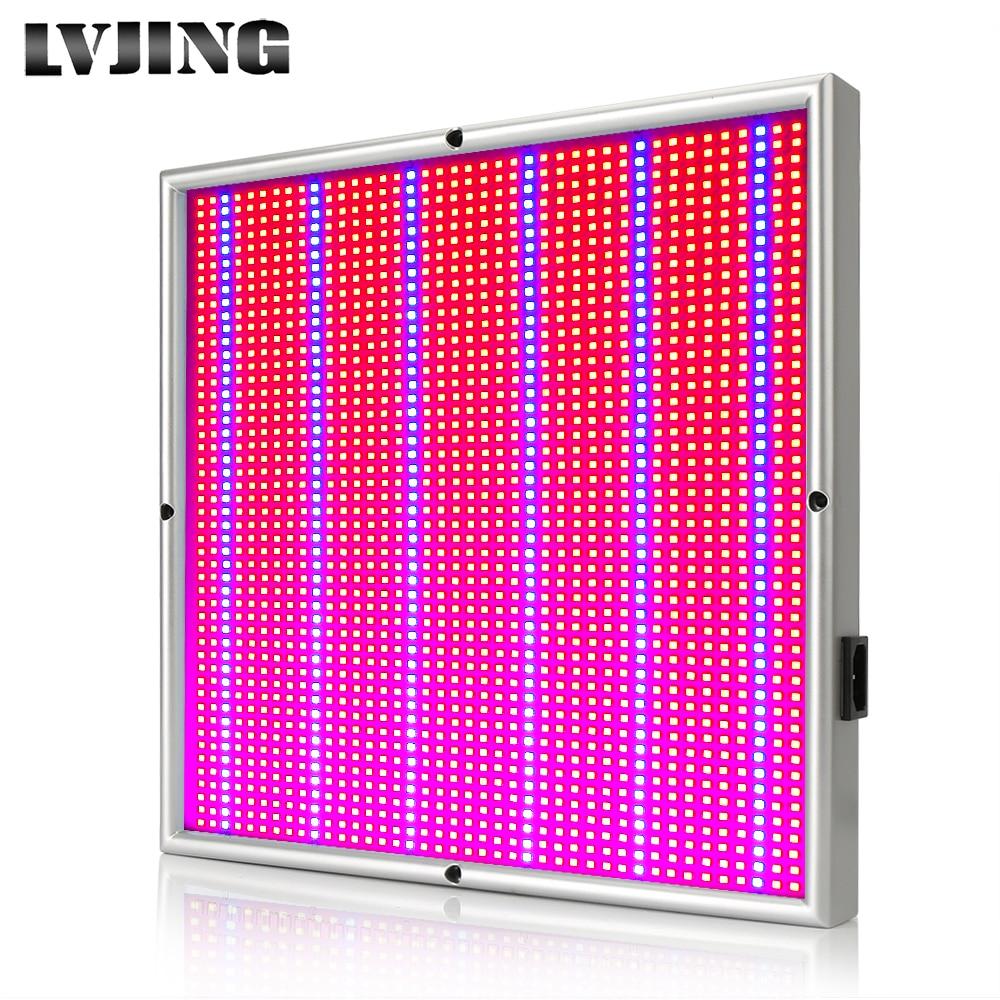Пълен спектър LED растеж светло червен син 200W фито лампа за хидропоника на закрито Оранжерийно растение палатка кутия Led завод всички етапи