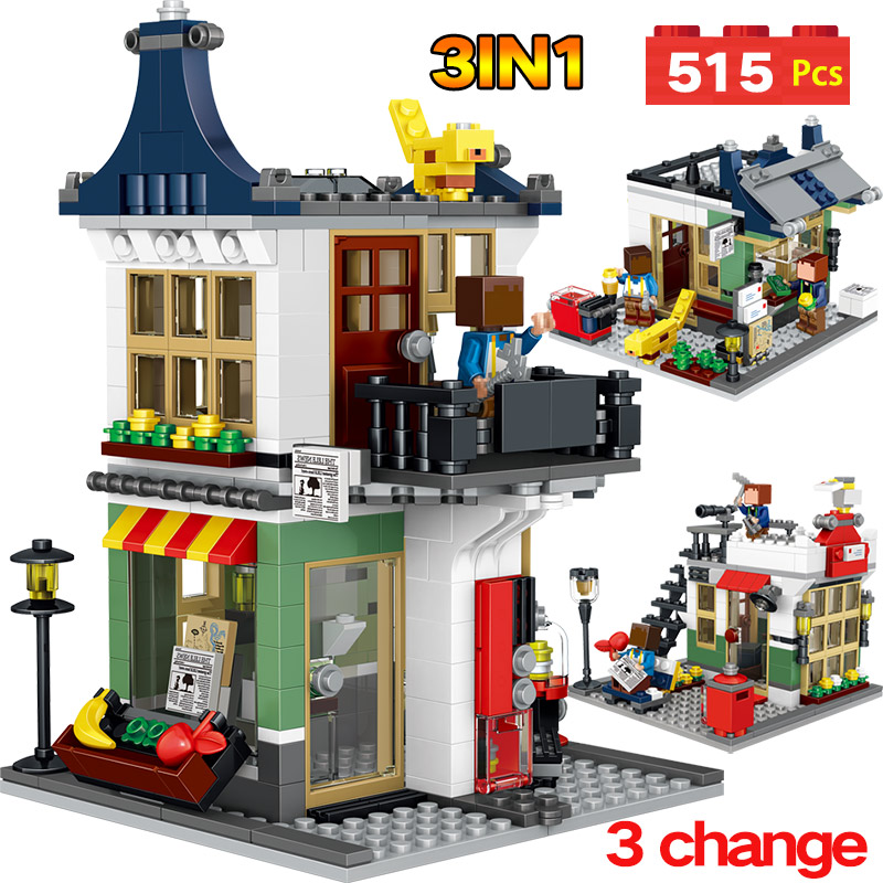 My World Series Creative shop Model Educational Classic Building Blocks Compatible LegoINGlys Minecrafter World Brick lele my world power morse train building blocks kits classic educational children toys compatible legoinglys minecrafter 541 pcs