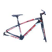 2017 FCFB T800 carbon mtb frame 27.5 29er mtb carbon frame carbon mountain bike frame 135*9mm MT668 3k glossy bicycle frame