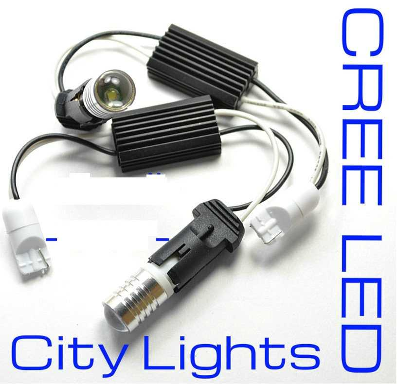 Free Shipping  car-styling Error Free White LED City Light For Audi B7 A4 B7 RS4 B7 S4 A3 MKII TT MK5 Jetta MK5 Rabbit 1pcs t10 6smd error free front side maker light parking light lamp bulb for audi a2 8l 8p a4 a6 4b 4f a8 d2 tt q3 q5 c5 c6 c7 s4
