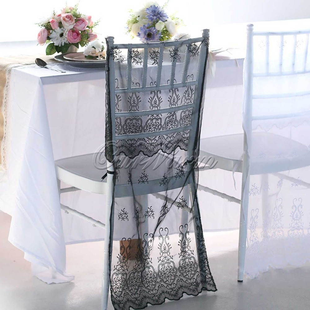 organza chiavari chair covers wedding party home restaurant banquet