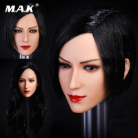 1/6 Scale Woman Head Sculpt Asian beauty Girl Head Carved Model Aier head model Fit PH Seamless Female Body Doll