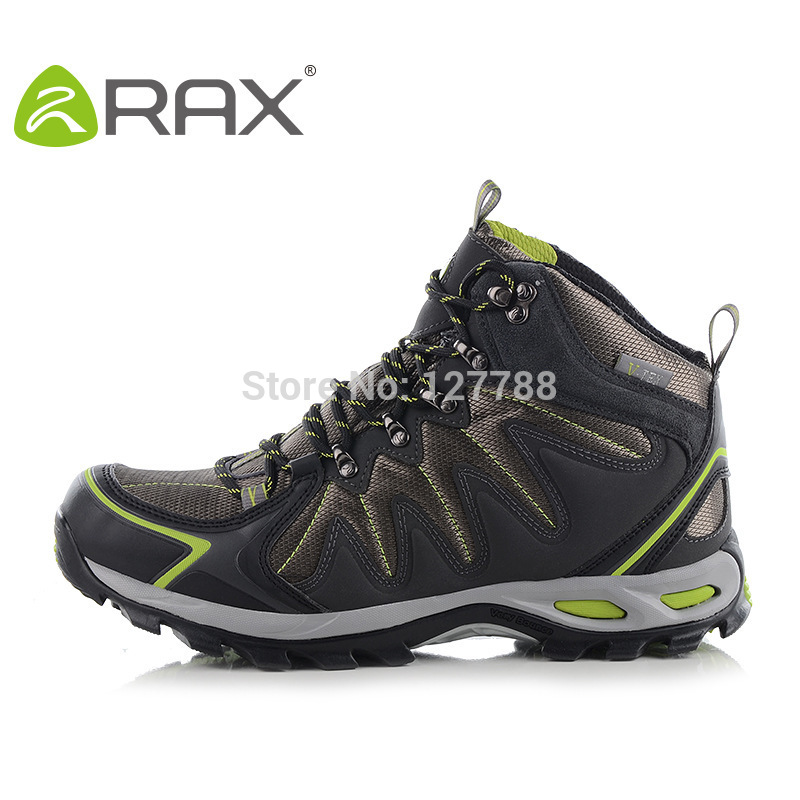 RAX Waterproof Hiking Shoes Man Wearable Antiskid Shoes Hiking Sneakers Outdoor Climbing Mountain Sneakers Trekking Boots