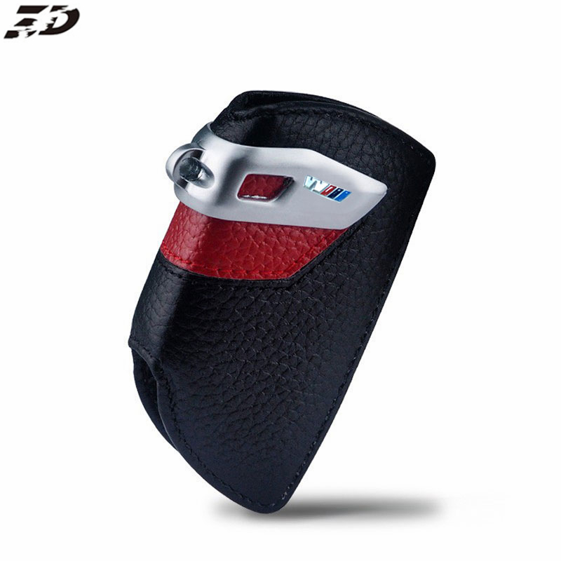 Genuine Leather Key Case For BMW F10 F30 F20 F15 F16 F85 F86 1 2 3 4 5 6 7 Series GT3 GT5 X3 X4 X5 X6 Key Case For Bmw Key Case цена