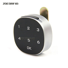 DIY Dry battery Digital Electronic Password Keypad Number Cabinet Code Door Locker drawer Locks Confused password function