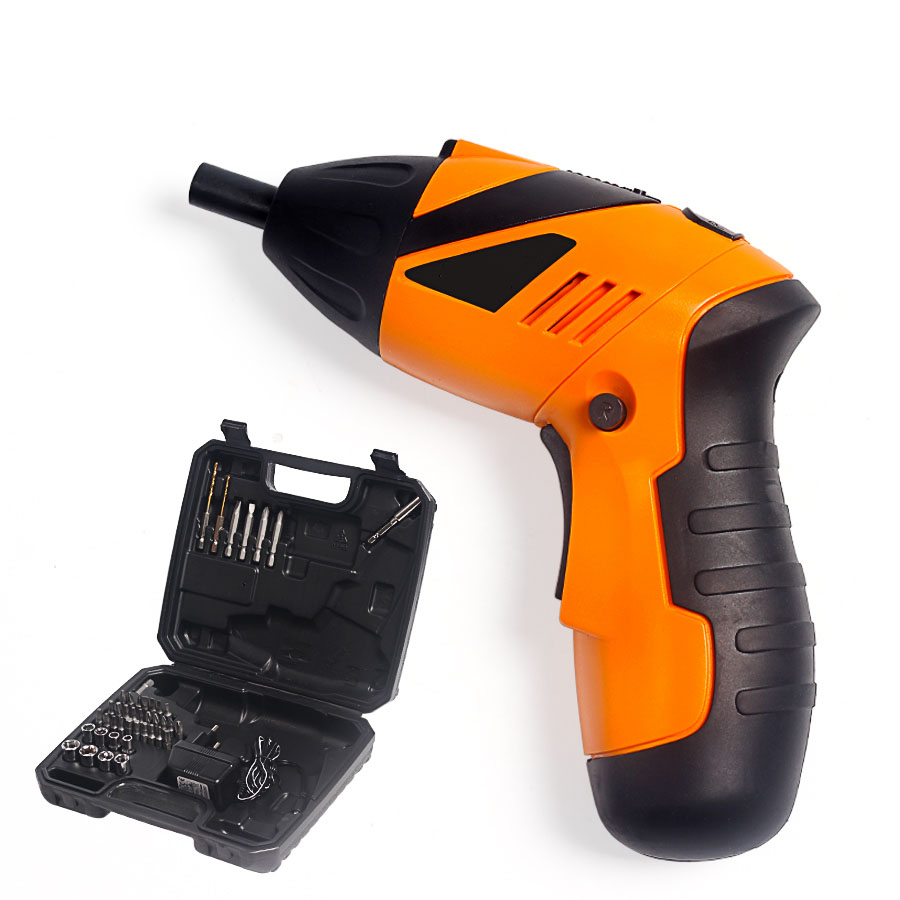 цена на UNeefull Rechargeable Cordless Screwdriver Electric 4.8V Household Multifunction Electric Drill power Tools with LED Light