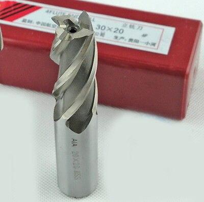 ФОТО 10pcs 10mm Four 4 Flute HSS & Aluminium End Mill Cutter CNC Bit