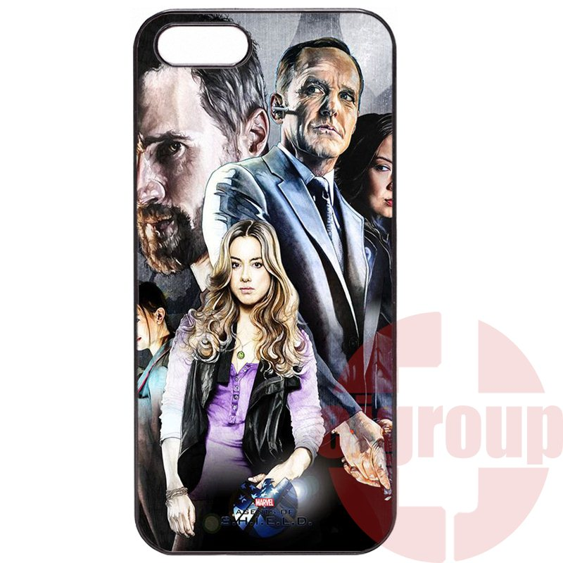 marvel agents of s.h.i.e.l.d Phone Cover Case Coque For Xiaomi Mi 3 4 4i 4c 5 5s Redmi 1S 2 2S 3S 2A 3 Note 2 3 4 Pro Max Plus