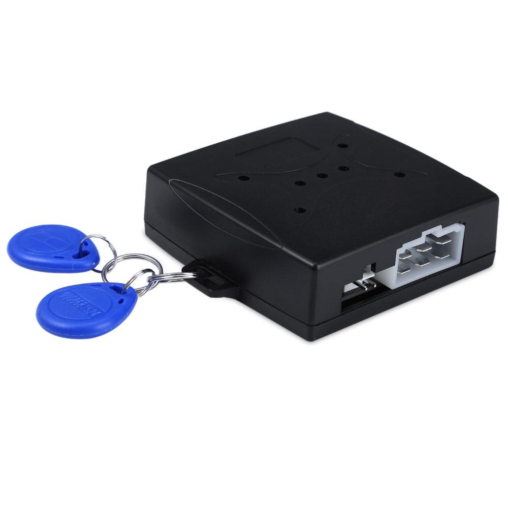 цена на Car Engine Push Start Button RFID Lock Ignition Starter Keyless Entry Start Stop Immobilizer