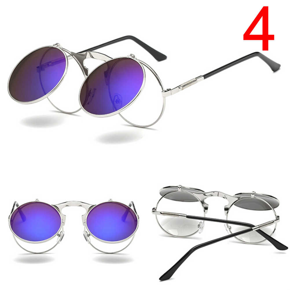 bd30be63dd28f Classic Round Sunglasses Men Small Vintage Retro John Lennon Glasses Women  Driving Metal Eyewear