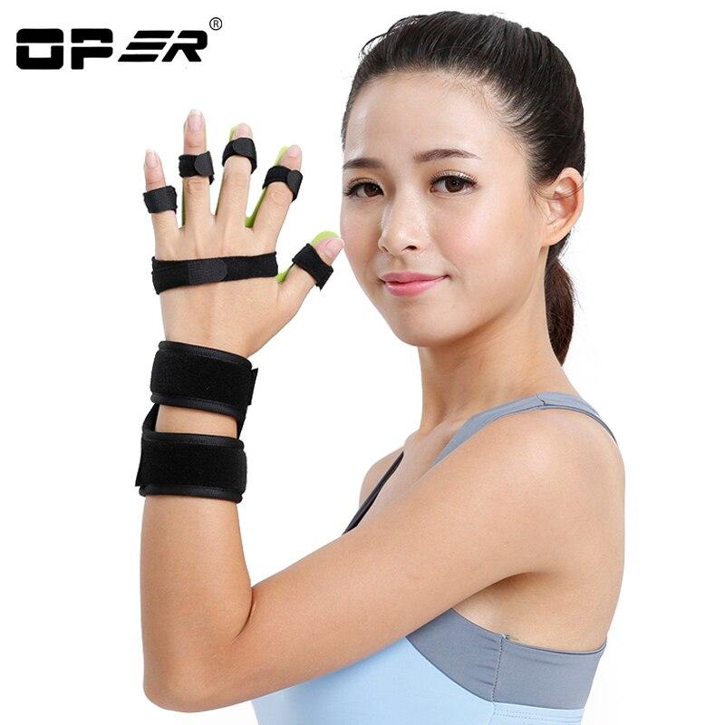 OPER Medical Adjustable Separate Finger Train Device support Orthosis Stroke Cerebral Infarction Hemiplegia Finger correction