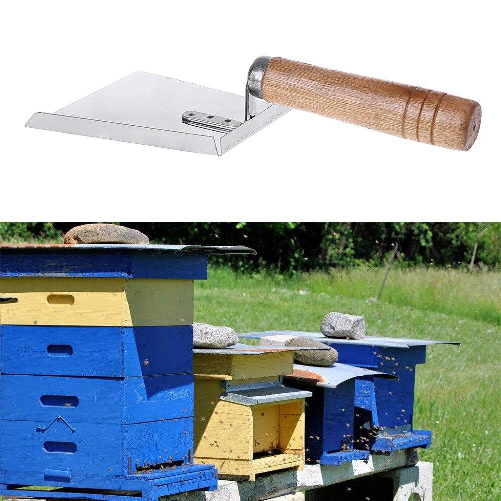 Wooden Beehive Shovel Beebox Scoop Scraper Cleaner Cutting Honey Shovel Beekeeping Tools in Beekeeping Tools from Home Garden
