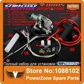 Keihin 30 mm PZ30 200cc 250cc carburador bomba de aceleração + Twister + cabo + Kit de reparação + Grips + mangueira de combustível IRBIS frete grátis