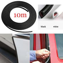 10M Car Door Edge Protector Sealing Strip Seal With Adhesive Universal U-shaped Anti-Dust Soundproof Sealing Strips Trim