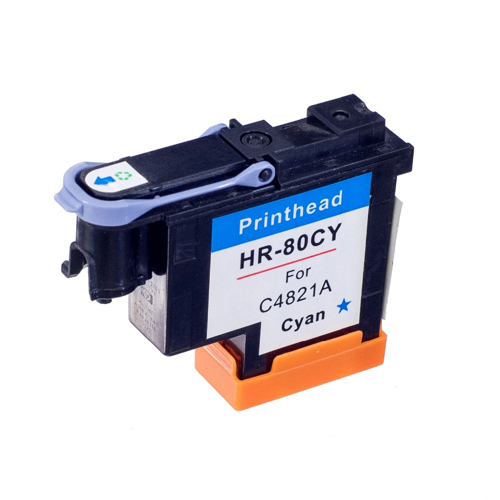 80 Cyan Compitable Printhead C4821A for HP80 Print head for hp 80 Ink Cartridge Head for HP Designjet 1050 1055 printer
