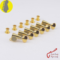 1 Set Original Genuine 6 In line GOTOH SGS510Z S5 Guitar Machine Heads Tuners ( Gold ) MADE IN JAPAN