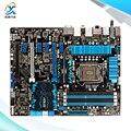 Для Asus P8Z77-V DELUXE Оригинальный Используется Для Рабочего Материнская Плата Для Intel Z77 Socket LGA 1155 Для i3 i5 i7 DDR3 32 Г SATA3 USB3.0 ATX