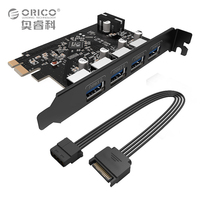 ORICO USB3 0 PCI Express Card Host Controller Card 3 0 Adapter To USB 3 0