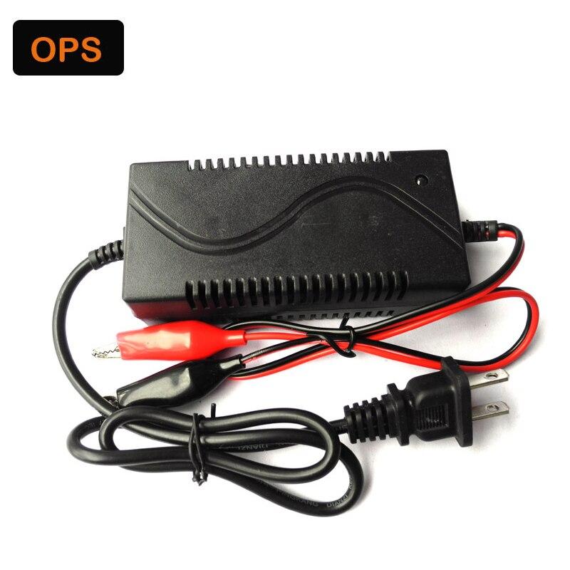 Intelligent Smart 12V1A AC Mur Chargeur 12 V de voiture moto batterie chargeur avec pour 12 V au plomb GEL, AGM, VRLA batterie,
