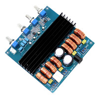 KYYSLB 200W+100W+100W Class D amplifier board TDA7498 2.1 digital power amplifier board super TPA3116