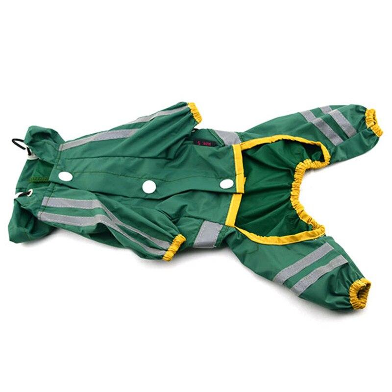 Cachorro perro mascota impermeable ropa Glisten Bar Hoody impermeable - Productos animales