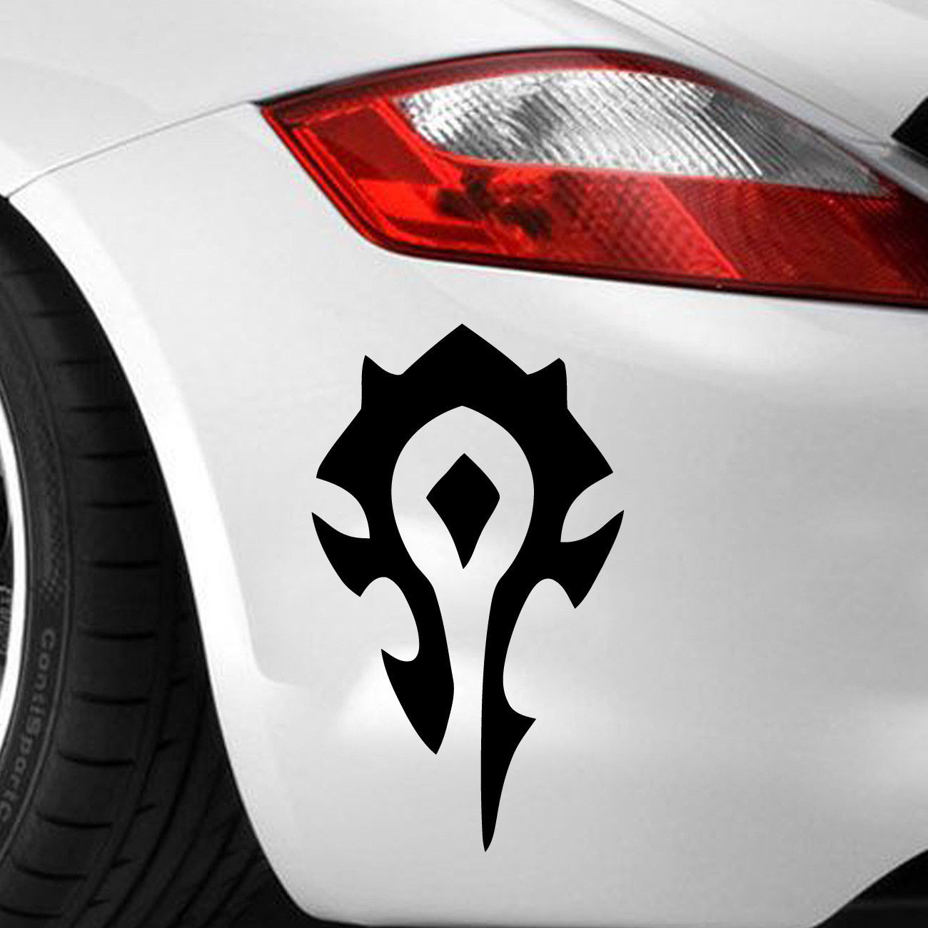 Horde Wow Game Decal Sticker Vinyl Vehicle Car Wall Motorcycle SUVs Bumper Laptop Car Styling