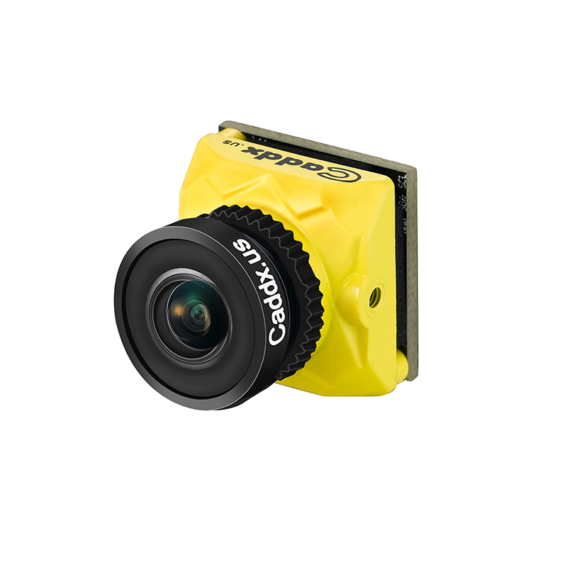 Caddx Ratel 1/1.8'' Starlight HDR OSD 1200TVL 16:9 4:3 NTSC/PAL Switchable 1.66mm/2.1mm Lens FPV Camera FPV Racing Drone Part