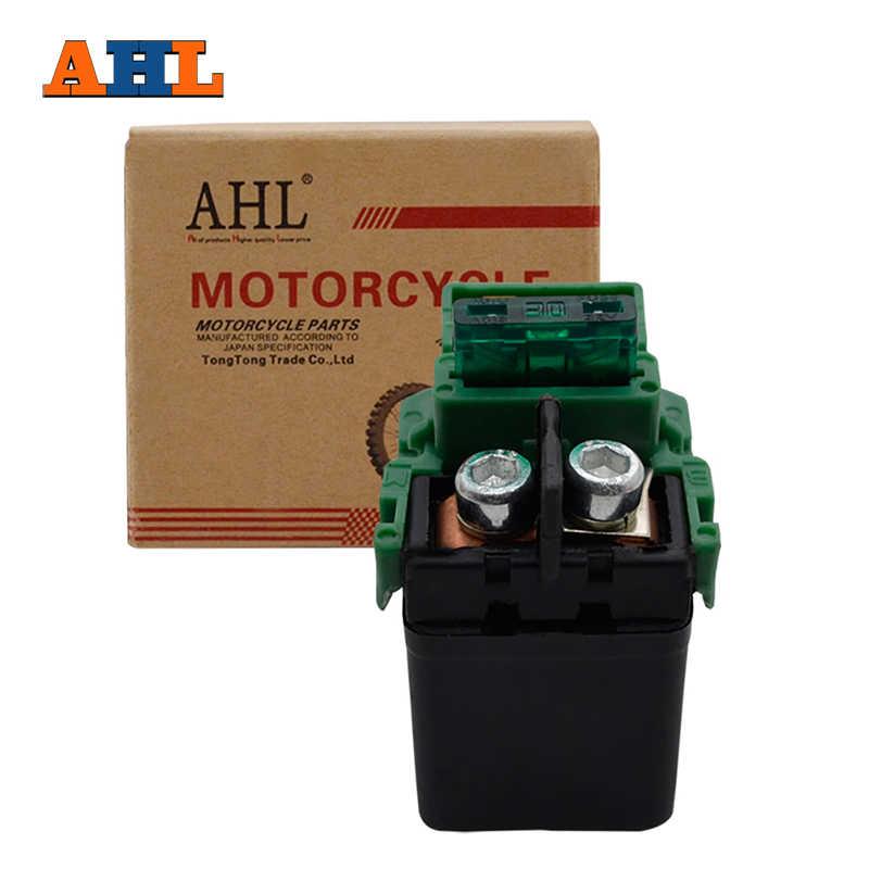 AHL אופנוע חלקי Starter סולנואיד ממסר הצתה מפתח & מתג עבור הונדה CBR250 MC22 CBR400 NC29 CB500 CB400SF