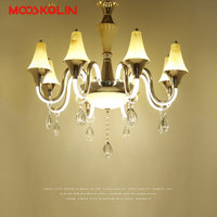 Simplicit Gold Led Chandeliers Modern For Dining Room Living Room Lamparas Colgantes Aluminum Body Chandelier Lighting