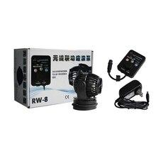 New 23w RW-8 Aquarium Wireless Linkage Master/Slave Control Wavemaker Fish Tank Water Pump Circulation Flow Maker