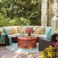 Сигма высокое качество каталина смола плетеная классическая мебель для дома