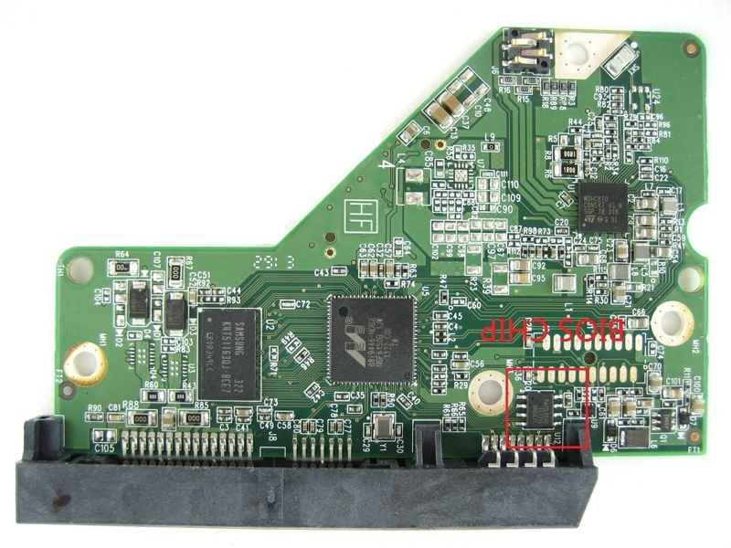 HDD <font><b>PCB</b></font> logic board circuit board 2060-771945-001 REV A/P1 for WD 3.5 SATA hard drive repair data recovery image