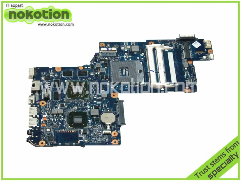 NOKOTION H000046340 laptop motherboard for toshiba C870 L870 L875 17.3 Screen ATI Mobility Radeon HD DDR3 MainboardNOKOTION H000046340 laptop motherboard for toshiba C870 L870 L875 17.3 Screen ATI Mobility Radeon HD DDR3 Mainboard
