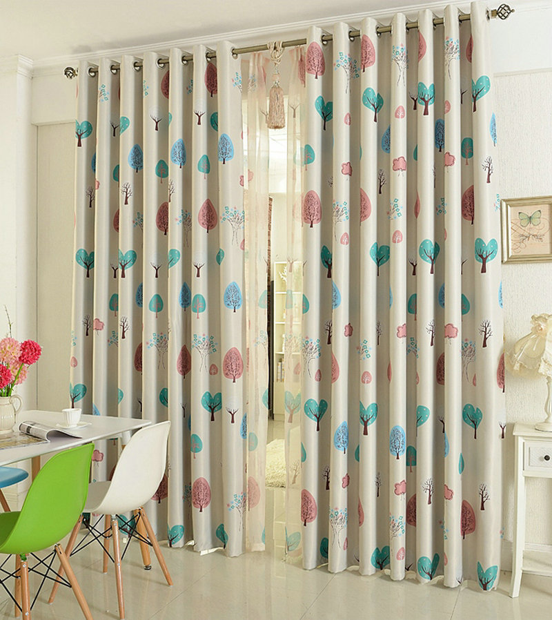 Lovely Eco Friendly Curtains For Kids / Children Cartoon Curtains/Sheer Blackout  Panel /Drapes Window Treatment Zoo In Curtains From Home U0026 Garden On ...