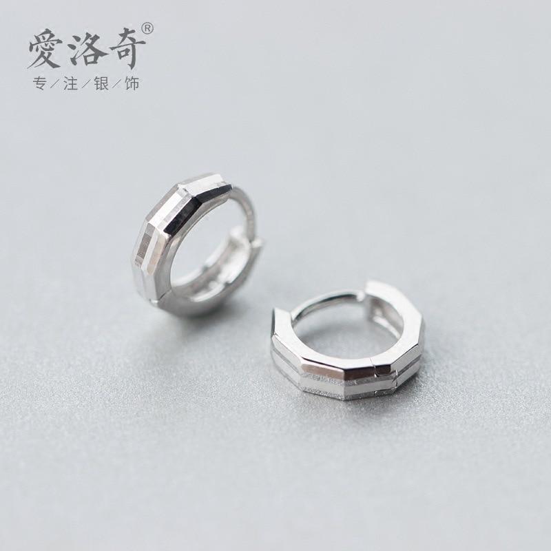 Tremella buckle female men fashion personality couple ear rings wholesale wholesale geometric ear studs ornaments E2660