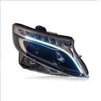 Car Styling Head Lamp for Vito Headlights 2013 2018 All New Vito LED Headlight LED DRL Hid Bi Xenon Auto Accessories