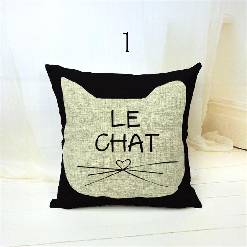 Moda Lady CAT Fundas de colchón para sofá decorativo Mantas ...