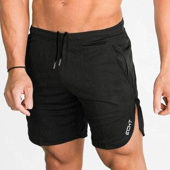 Męskie bawełniane spodenki do biegania Jogging sport Fitness kulturystyczne spodnie dresowe męskie zawody plaża trening szkolenia krótkie spodnie