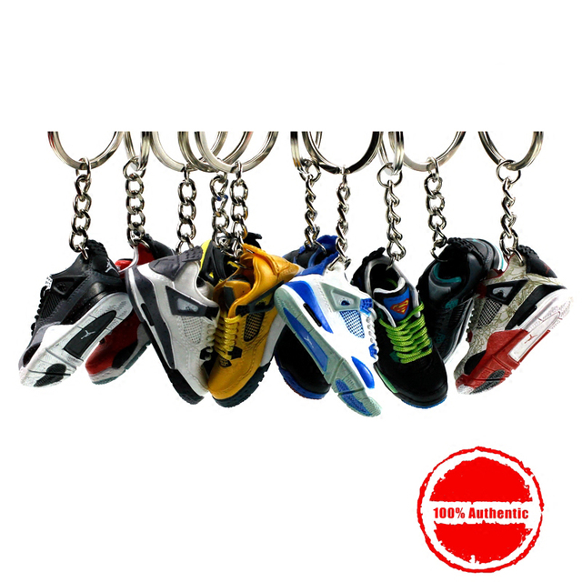 9c21bb431e28 3D Air Jordan Sneaker Keychains Mobile Phone Strap Lanyard for iPhone keys  Bag AJ Basketball Shoes Model Popular Gift Shoe Mold