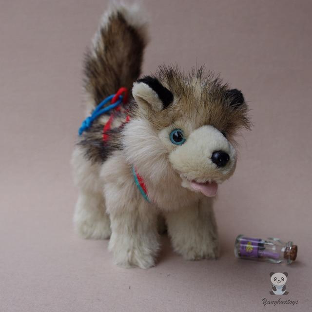 Alaskan Malamute Doll Plush Toy Simulation Dog Children Birthday