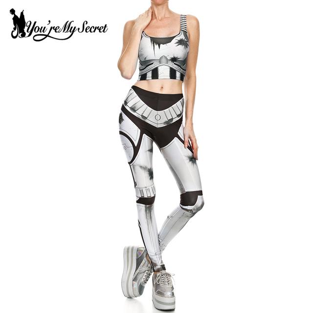 [Tu és O Meu Segredo] Leggins Mulheres Leggings Steampunk Star Wars Cosplay Comic capitão América Magro Legging Inverno Mujer Calças Definidos