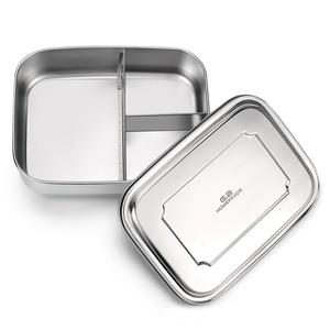 Image 4 - G.a HOMEFAVOR 어린이를위한 맞춤형 도시락 상자 식품 용기 Bento Box 304 최고급 스테인레스 스틸 보관 열 금속 상자 재고