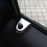 TOMEFON ABS Interior Side Air Vent Outlet Pin Cerradura De La Puerta Cubierta recortar 4 UNIDS W447 Accesorios de Auto Para Mercedes-benz Vito 2014-2017