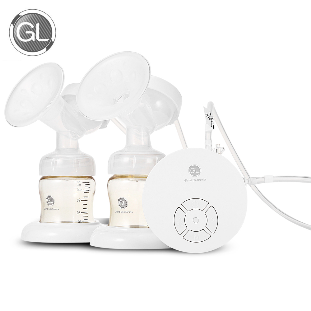 GL GLP - 17 Electric Breast Pump Double USB Charging BPA Free Multifunctional Electric Double Breast Pump Storage For Baby Mommy front brake disc rotor for suzuki vs700 glf glp h vs750 glf glp j intruder vs800 gl n vs1400 gl glp s83 boulevard 05 06 07 08 09