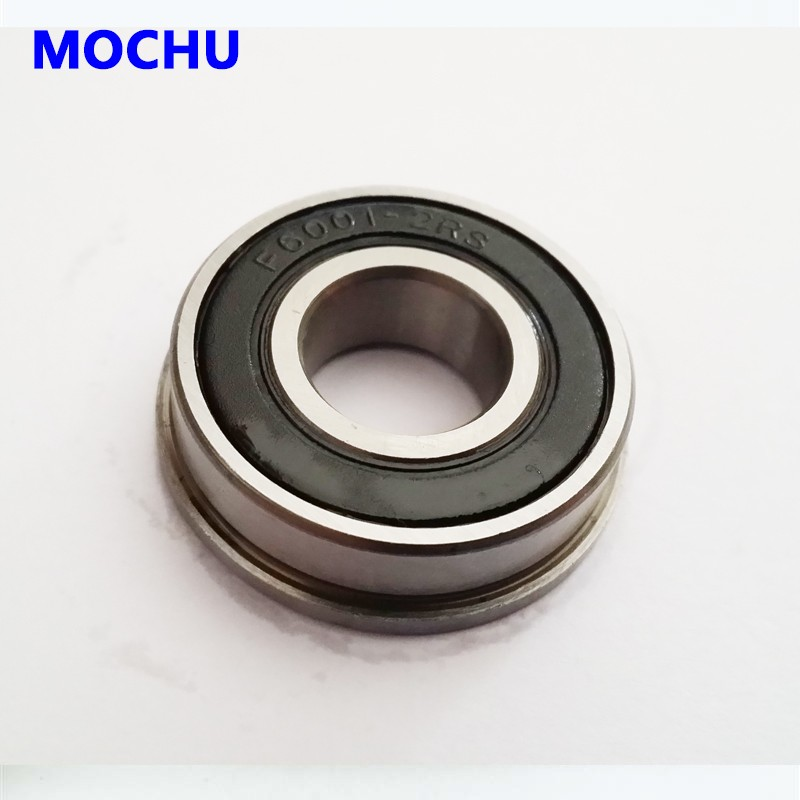 6000-2RS Sealed Bearings 10x26x8 Ball Bearings 2 Two Pre-Lubricated