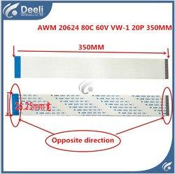 2 sztuk dobra praca nowy oryginalny AWM 20624 80C 60V VW-1 20P 1.25MM długości 350MM z samolotu
