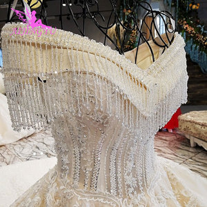 Image 4 - AIJINGYU Wedding Dresses Sri Lanka Gowns Muslim Gothic 2 In 1 Shenzhen Clearance Gown Plain Wedding Dress Boho Long Sleeve